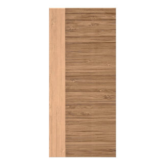 The Look of  Bamboo Border Wood Grain in Almond Rack Card