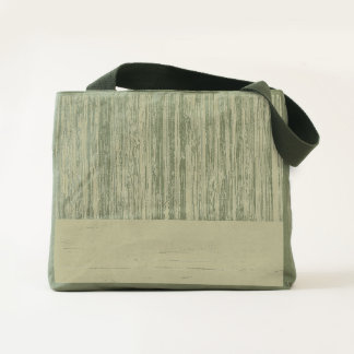 The Look of  Bamboo Border Wood Grain in Almond Tote