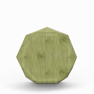 The Look of Bamboo in Olive Moss Green Wood Grain Award