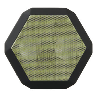 The Look of Bamboo in Olive Moss Green Wood Grain Black Bluetooth Speaker