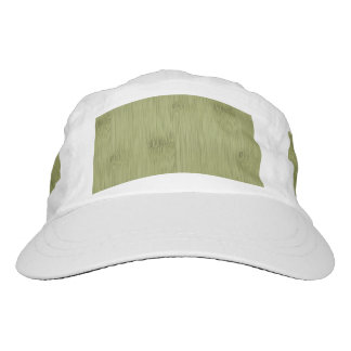 The Look of Bamboo in Olive Moss Green Wood Grain Hat