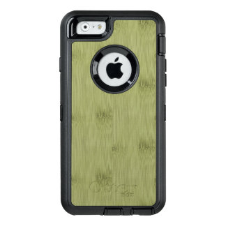 The Look of Bamboo in Olive Moss Green Wood Grain OtterBox iPhone 6/6s Case