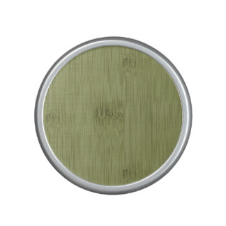 The Look of Bamboo in Olive Moss Green Wood Grain Speaker