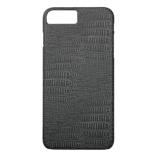 The Look of Black Realistic Alligator Skin iPhone 7 Plus Case