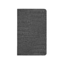 The Look of Black Realistic Alligator Skin Journal