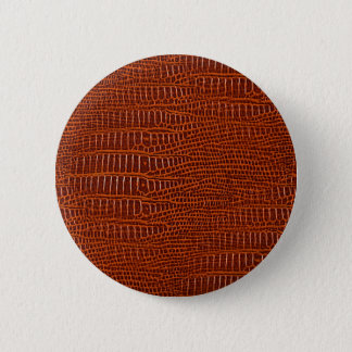 The Look of Brown Realistic Alligator Skin Button