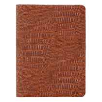 The Look of Brown Realistic Alligator Skin Extra Large Moleskine Notebook