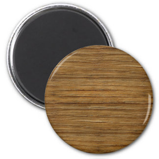 The Look of Driftwood Oak Wood Grain Texture 2 Inch Round Magnet