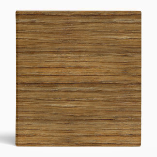The Look of Driftwood Oak Wood Grain Texture 3 Ring Binder