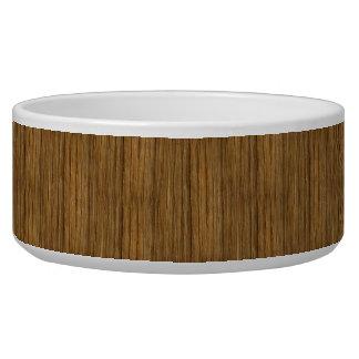 The Look of Driftwood Oak Wood Grain Texture Bowl
