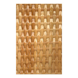 The Look of Lacquer Wicker Basketweave Texture Flyer