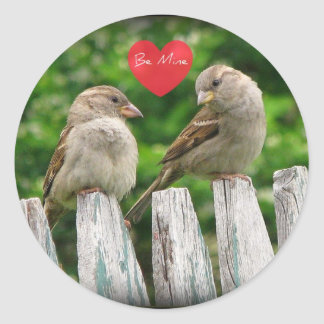 The Look of Love Classic Round Sticker