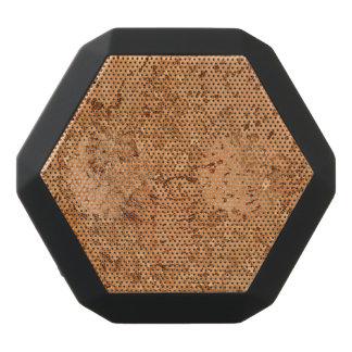 The Look of Macadamia Cork Burl Wood Grain Black Bluetooth Speaker