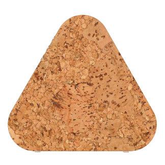 The Look of Macadamia Cork Burl Wood Grain Bluetooth Speaker