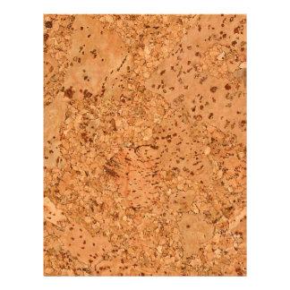 The Look of Macadamia Cork Burl Wood Grain Flyer