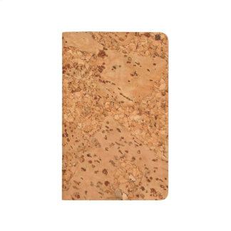 The Look of Macadamia Cork Burl Wood Grain Journal