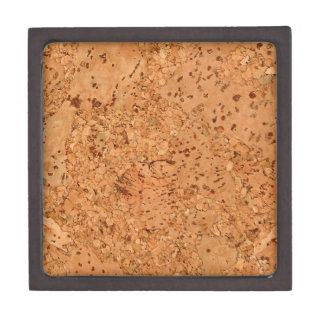 The Look of Macadamia Cork Burl Wood Grain Keepsake Box