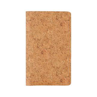 The Look of Macadamia Cork Burl Wood Grain Large Moleskine Notebook