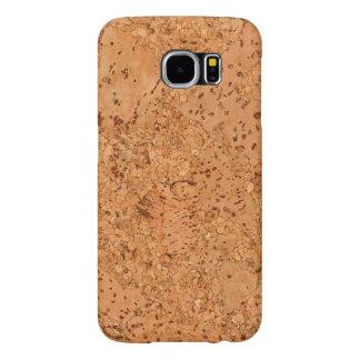 The Look of Macadamia Cork Burl Wood Grain Samsung Galaxy S6 Case