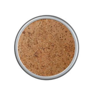 The Look of Macadamia Cork Burl Wood Grain Speaker