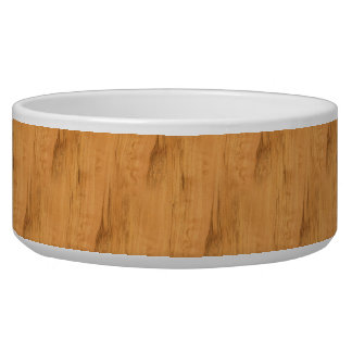 The Look of Maple Wood Grain Texture Bowl