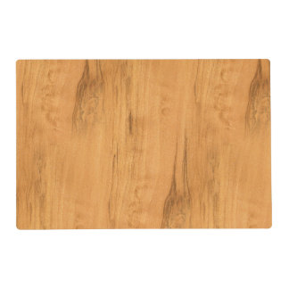 The Look of Maple Wood Grain Texture Placemat