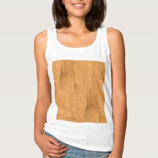 The Look of Maple Wood Grain Texture Tank Top