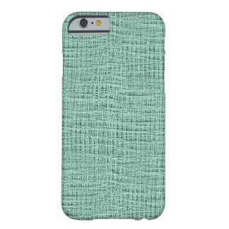The Look of Seafoam Blue Gauze Weave Texture Barely There iPhone 6 Case