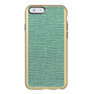 The Look of Seafoam Blue Gauze Weave Texture Incipio Feather® Shine iPhone 6 Case