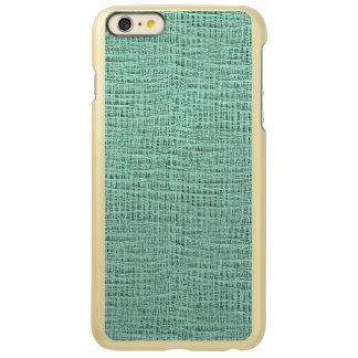 The Look of Seafoam Blue Gauze Weave Texture Incipio Feather® Shine iPhone 6 Plus Case