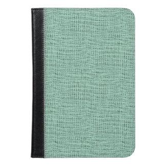 The Look of Seafoam Blue Gauze Weave Texture iPad Mini Case