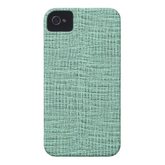 The Look of Seafoam Blue Gauze Weave Texture iPhone 4 Case-Mate Cases