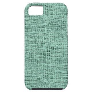 The Look of Seafoam Blue Gauze Weave Texture iPhone SE/5/5s Case