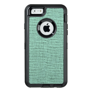 The Look of Seafoam Blue Gauze Weave Texture OtterBox iPhone 6/6s Case