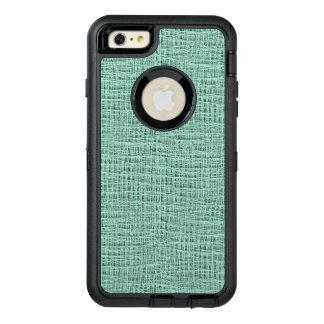 The Look of Seafoam Blue Gauze Weave Texture OtterBox iPhone 6/6s Plus Case