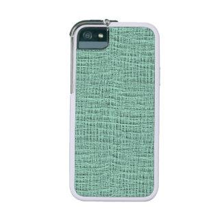 The Look of Seafoam Blue Gauze Weave Texture Phone SE/5/5s Case