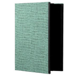 The Look of Seafoam Blue Gauze Weave Texture Powis iPad Air 2 Case