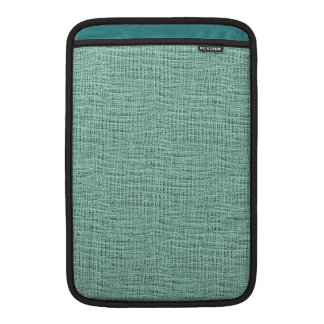 The Look of Seafoam Blue Gauze Weave Texture Sleeve For MacBook Air