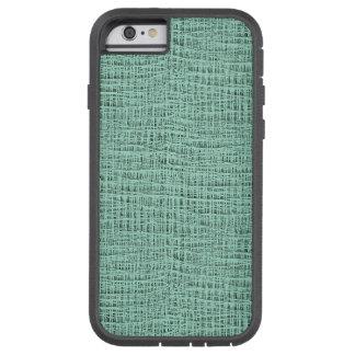The Look of Seafoam Blue Gauze Weave Texture Tough Xtreme iPhone 6 Case