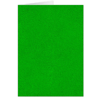 The look of Snuggly Bright Neon Green Suede Card