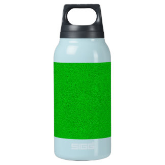 The look of Snuggly Bright Neon Green Suede Insulated Water Bottle