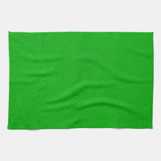 The look of Snuggly Bright Neon Green Suede Kitchen Towel