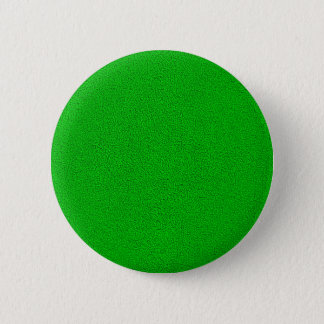 The look of Snuggly Bright Neon Green Suede Pinback Button