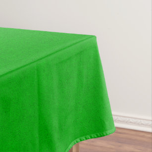 Genial The Look Of Snuggly Bright Neon Green Suede Tablecloth