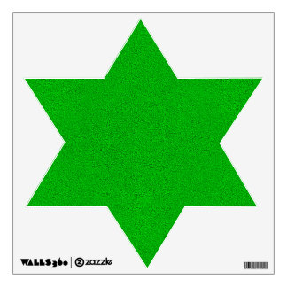 The look of Snuggly Bright Neon Green Suede Wall Sticker