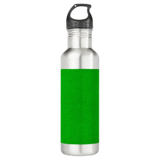 The look of Snuggly Bright Neon Green Suede Water Bottle