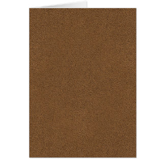The look of Snuggly Coffee Brown Suede Texture Card