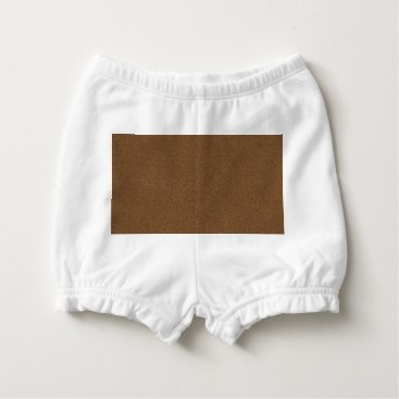 Coffee Themed The look of Snuggly Coffee Brown Suede Texture Diaper Cover