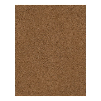 The look of Snuggly Coffee Brown Suede Texture Flyer