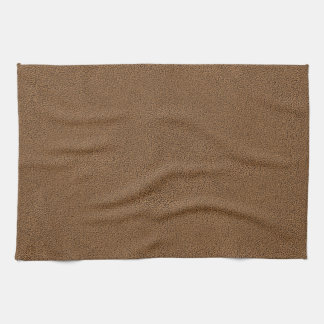 The look of Snuggly Coffee Brown Suede Texture Hand Towels